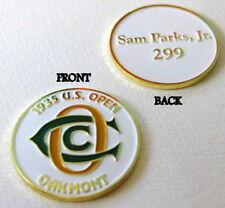 1935 US OPEN, OAKMONT, COMMEMORATIVE BALL MARKER  - SAM PARKS