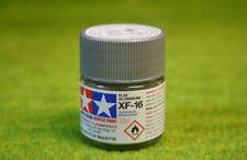 Tamiya Color Plano Aluminio Acrílico Pintura Mini XF16 10mls