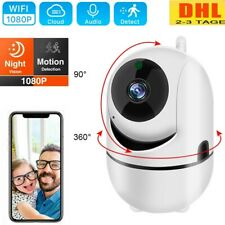 HD 1080P WIFI IP Kamera WLAN Webcam Überwachungskamera Nachtsicht Baby Camera DE