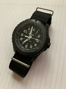 Traser H3 P96 Pioneer Military Wristwatch Nato strap - Swiss made - Black