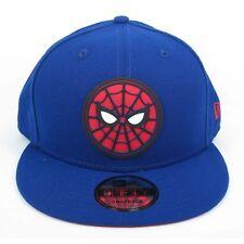 New Era Homme Marvel Comics Spider-Man Hero badge Avenger 950 Bleu Casquette Réglable