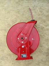 """Reelcraft 7640-OLP 3/8"""" x 40' Spring Retractable Hose Reel, 300 PSI w/ Hose"""