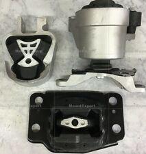 MB3pcSet Motor Mounts fit 2.0L Turbo 2013 - 2017 Ford Fusion Engine NON-HYBRID