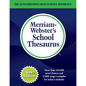 MERRIAM-WEBSTERS SCHOOL THESAURUS