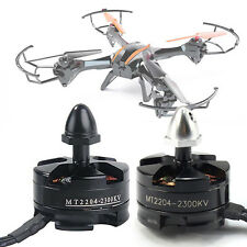 Emax MT2204 II 2300KV Cooling Motor CW & CCW For 250 280 Drone Quadcopter .pop