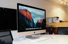 Apple iMac 27 Core i7 3,5 GHz 32 Go RAM 1 TO SSD GTX 780 M 4 Go OS El Capitain
