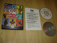 THE SIMS LIVIN IT UP expension PACK GIOCO PER PC CD-ROM