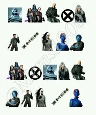 X men  Nail decals (Water Decals) X Men Nail art. Free Shipping!!