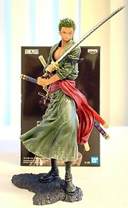 Banpresto One Piece Creator X Creator Anime Figure Toy Roronoa Zoro BP16976