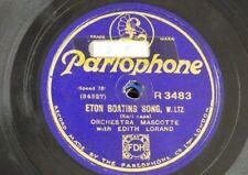 78rpm EDITH LORAND eton boating song / gold & silver waltz R 3483