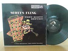 Tony Scott Septet,Scott's Fling,RCA Victor LJM 1022,1stPress,Jazz Vinyl LP RARE