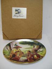 New Thomas Blackshear Ebony Visions The Storyteller Collectors Plate Item 37048