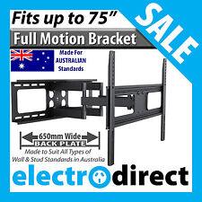 Full Motion Swivel Pivot LCD LED Plasma TV Television Bracket Wall Mount