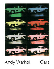 8 300 SL Coupe 1954 by Andy Warhol Art Print Offset Lithograph Car Poster 27x35