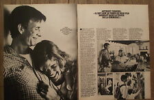 Article Anthony Perkins  , photos, , 1980 , clipping