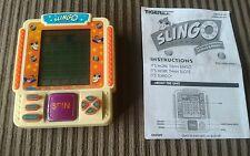 Slingo 1998 Handheld Tiger Electronics Inc. LCD Game Model **FREE AA Batteries**