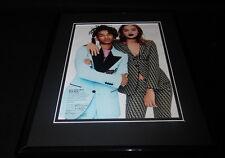 Jaden Smith & Jasmine Sanders Framed 11x14 Photo Display
