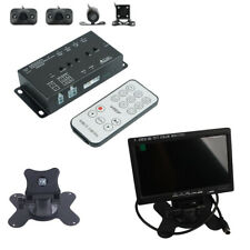 """Car Vehicle 7""""LCD Monitor Dashcam DVR Recorder 360° Panoramic View System Camera"""