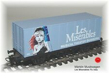 Märklin Sonderwagen -Musical-  Les Miserables  Fb.blau  #NEU in OVP#