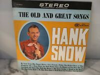 Hank Snow The Old And Great Songs LP RCA Camden Mono VG+!!!