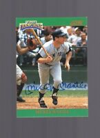 1992 Score the Franchise Mickey Mantle AUTO #/2000 NR-MINT