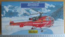 Modellbau, Luftfahrt; ALOUETTE III von Heller Sécurité Civile 1/72 OVP