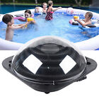 TOP! Outdoor Solar Dome Inground Black & Above Ground Swimming Pool Water Heater