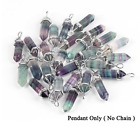 Rainbow Fluorite, Pendant, Gemstone, Point, Crystal Necklace, jewelry, necklace