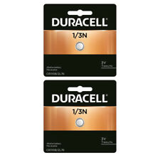 2 Pcs Duracell 2L76 1/3N CR1-3N DL1/3N K58L 3V Lithium Battery GENUINE