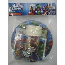 Avengers 40 Piece Party Pack Supplies Loot Cups Plates Napkins