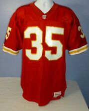 Wilson NFL Kansas City Chiefs Red #35 Christian Okoye Football Jersey Size 44