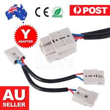 50 Amp Anderson Plug Connector Double Y Extension Adaptor 6mm Automotive Cable