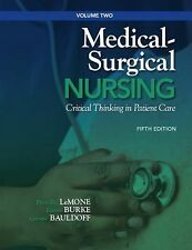Medical-Surgical Nursing: Critical Thinking in Patient Care, Volume 2 (5th Editi