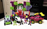 Fisher Price Imaginext Joker Ha Ha Fun House Playset with Cars & Figures