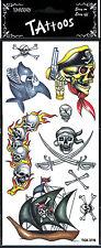 9 tatouages pirate têtes de morts et requin 208809requin maquillage theatre fete
