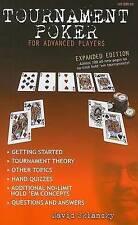 Tournament poker for advanced players by David Sklansky (Paperback)