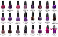 China Glaze Nail Polish - 14ml - Violets & Berries You Choose - Postage Combined