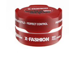 X-Fashion Extra Aqua Hair Wax Red Full Force 150ml - Also Sell Red One