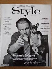 STYLE MAGAZINE n°1-2 2010 - Leonardo Di Caprio Andres Serrano  [D22]