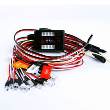 1/10th 2.4ghz PPM FM LED Light Kit Brake + Headlight + Signal Fit RC Car Truck