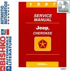 1997 Jeep Cherokee Shop Service Repair Manual CD Engine Drivetrain Electrical