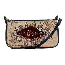 NEW Marauders Map Harry Potter Hogwarts Shoulder Crossbody Clutch Bag Hand Bag
