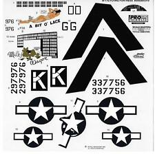 Loose, Box Stock Monogram B-17G Flying Fortress Decals 1/48 8559 No Instructions