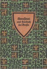 (Deutsche Volkheit) Sanssouci und Friedrich der Große (mit Abb.)   1925
