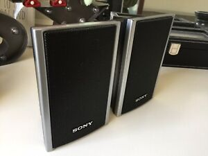 Sony SS-TS80 Home Cinema Surround Sound Speakers 1 Pair
