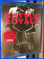 Battle Royale (Blu-ray) Directors Cut! Kinji Fukasaku! ANCHOR BAY DISC! NEW!