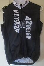 42 Below Vodka Sleeveless Cycling Bike Jersey Top Black Tank Top Adult Small