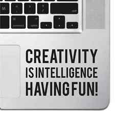 Teclado Macbook Pro Air de creatividad motivacionales Adhesivo Calcomanía inspiradoras Pad