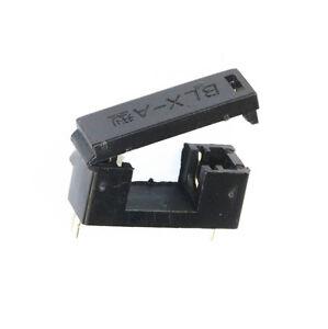 50PCS BLX-A type PCB Mount FUSE HOLDER 5MM X 20MM 15A/125v SOLDER HOLDERS