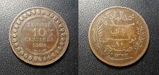 Tunisie - colonie Française - 10 centimes 1904 A, Paris - JL#99